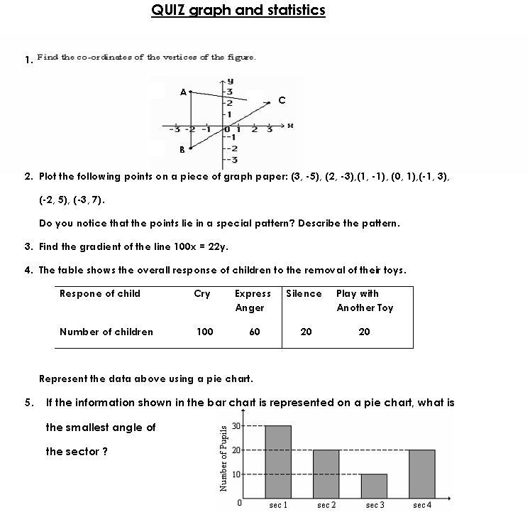 Animateholic – Statistics Worksheet